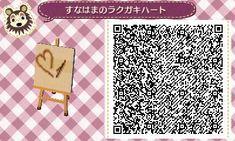 QR codes - (page - Animal Crossing New Leaf Animal Crossing 3ds, Animal Crossing Qr Codes Clothes, Motif Acnl, Ac New Leaf, Motifs Animal, Ap Studio Art, Path Design, My Animal, Beach Print