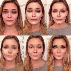 Le contouring de Glam her booth