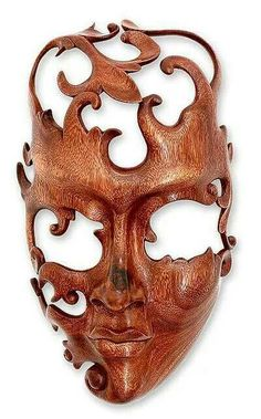 Gotta love this wooden mask