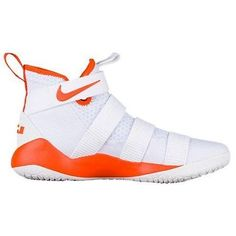 newest cc7fd 04446 NIKE LEBRON SOLDIER XI 11 TB PROMO ORANGE WHITE SILVER SNEAKERS SHOES  943155 12  Nike  BasketballShoes