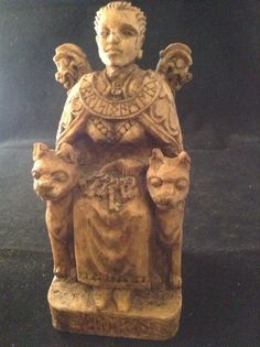 Freya Goddess of Sex Cats Wiccan Celtic and Norse Statue | eBay