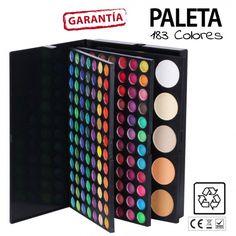Estuche maquillaje 183 COLORES maletin sombra de ojos #paletasombras #makeup #diadelamadre #regalomama