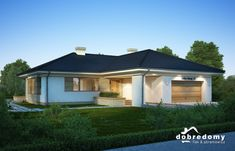 Julia - Dobre Domy Flak & Abramowicz Outdoor Rooms, Gazebo, House Plans, Shed, Floor Plans, Exterior, Outdoor Structures, Architecture, House Styles