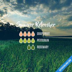 Summer Refresher - Essential Oil Diffuser Blend