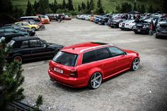 Audi RS4 - Vossen CV3's