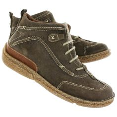 Josef Seibel Women's NIKKI taupe casual lace-up ankle boots 85026-16762