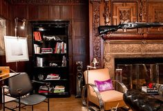 Ally Coulter - eclectic - family room - new york - Rikki Snyder