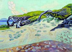 Pines at Rafina, c.1920 - Konstantinos Maleas