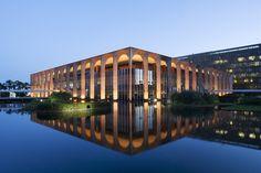 Ministério das Relações Exteriores. Niemeyer.