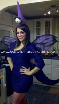 Coolest One Eyed One Horned Flying Purple People Eater Costume 4: I got this One Eyed One Horned Flying Purple People Eater Costume idea from the song, obviously. It was a hit, although some people didn't know what it