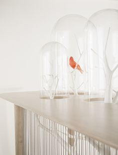 French interior architect and designer Grgroire de Laforrest develops fresh, new designs that break many conventional expectations. Cage Archibird is an ex