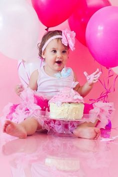 Great 1st birthday picture