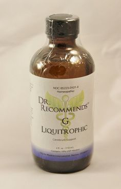 Natural Home Remedy for Dementia, Poor memory | G Liquitrophic Homeopathic by Dr Recommends www.eVitaminMarket.com