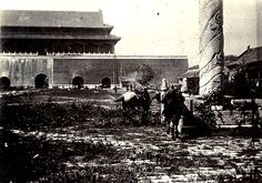 This was the Forbidden City, initially built by Ming emperors and later occupied by Manchu squatters who allowed the biggest palace in the world to become the grazing ground for the battle horses of the Western troops during the Boxer Rebellion.