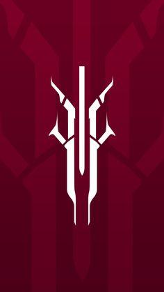 House of Devils Destiny Backgrounds, Wallpaper Backgrounds, Symbol Design, Logo Design, Sabre Laser, Destiny Game, Neue Tattoos, Gaming Wallpapers, Art Logo