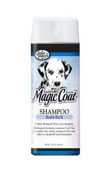 Magic Coat Medicated Dog Shampoo 16oz, Four Paws - Magic Coat Medicated Dog Shampoo Is Specially Formulated With Coal Tar And Aloe Vera To Relieve Dry And Itchy Skin. This Restorative Shampoo Helps Heal Irritated Skin Caused By Dermatitis, Eczema And Other Skin Disorders. This Non-stinging Formula Leaves The Coat Feeling Soft, Relieved And Restored. Magic Coat Medicated Shampoo Can Be Used On Dogs And Cats And Is Safe For Use With Topical Flea And Tick Treatments.