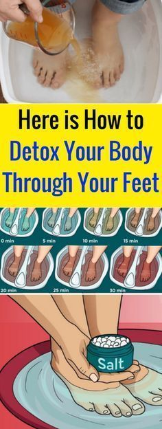 Here is How to Detox Your Body Through Your Feet - seeking habit