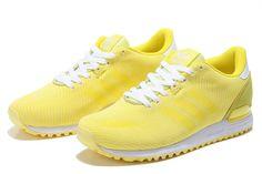 best sneakers cff3f 4dbab Adidas Originals Weave ZX 700 Oddity Pack Damen Beiläufig Schuhe Gelb B35574