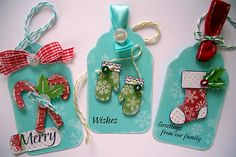 lots of gift tags-mypapertreats.blogspot.comThe Stamps of Life - christmas2build