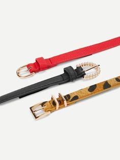 Σετ ζώνες 3 pcs -Belt Set 15.90 BLUSHGREECE Metal Buckles, Belt Buckles, Fast Fashion, Fashion Online, Personalized Items, Bracelets, Belts, Jewelry, Women