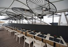 besame mucho restaurant honors the acapulco chair in expo milan 2015