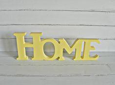 "Napis+3D+stojak+dekoracyjny+""Home""+PREZENT+w+Home+Edition+na+DaWanda.com"