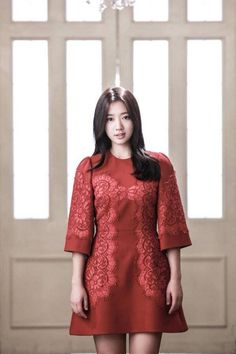 Park Shin Hye (I just love how she looks with this dress)