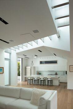 modern kitchen by Griffin Enright Architects, white