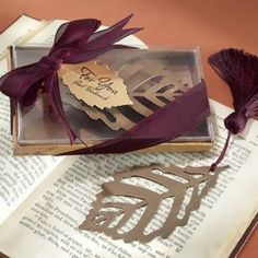 Turning Leaves Bookmarks