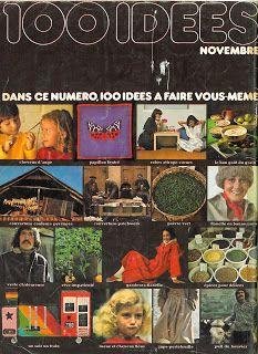 Tricots et cuisine de 100 Idées: 100 Idées de 1975