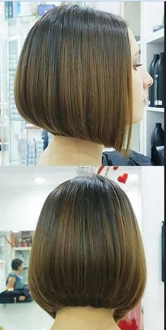 35 Short Bob Hairstyles 2019 for Women - Hairstyles Trends Oblong Face Hairstyles, Bob Hairstyles For Fine Hair, Cool Hairstyles, Corte Channel, Medium Hair Styles, Short Hair Styles, Hair Affair, Short Hair Cuts, Hair Lengths