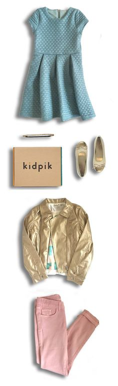 SMILES DELIVERED! Meet kidpik, the girls (size 4-14) fashion box that's totally free to try! How does it work? Fill out a Style Profile and our team will style and deliver to your doorstep 2-3 head to toe outfits just for your girl! Keep what you love and send the rest back on us. Kidpik is commitment free - shipping, styling, and returns are all free. You only pay for what you keep. Avg. price per item $12, or keep everything we send and get a 30% discount. JOIN THE FUN TODAY www.kidpik.com