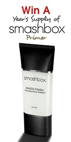 Win A Year's Supply of Smashbox Primer