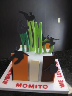 Birthday Parkour Party for Max on Pinterest | Parkour, Mansard ...