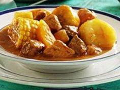 El Sancocho – Meat & Vegetable Stew - One of my favorites. Puerto Rican Dishes, Puerto Rican Cuisine, Puerto Rican Recipes, Dominican Recipes, Sancocho Recipe Puerto Rican, Dominican Food, Boricua Recipes, Comida Boricua, Mexican Food Recipes