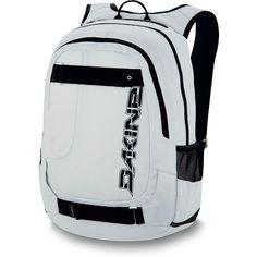 "Dakine Division Pack Skate Backpack, Stone by Dakine. Save 40 Off!. $32.97. Fleece lined sunglass pocket. Padded sleeve fits most 15"" laptops. Heavy duty skate carry. Organizer pocket. Mesh side pockets. DaKine Skate Laptop Backpack"