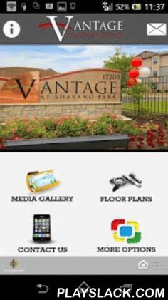 Vantage At Shavano Park  Android App - playslack.com , Native Mobile AppsApartment Mobile Apps LLCVantage at Shavano Park free app provides residents, the apartment shopper as well as the community management team with the ability to communicate with each other anytime - anywhere off line, whether it's a maintenance request or a reminder of a community or local city event. Unlike a web based app, Vantage at Shavano Park Mobile Application provides Push Notifications which allows current…