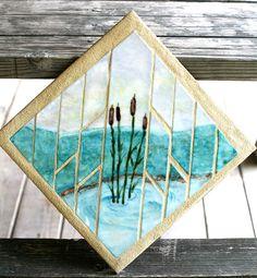 Mosaic Glass created at the John C. Campbell Folk School | folkschool.org