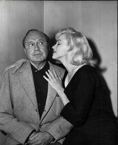 é muita areia para o meu caminhãozinho  - Marilyn Monroe made her official television debut on Jack Benny's 1953 season premiere, Sept. 13, 1953.