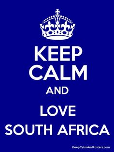 Love South Africa.