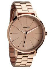NIXON THE KENSINGTON WATCH - ALL ROSE GOLD on http://www.surfstitch.com