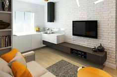 Simple apartment with modern and clean interior [26 m²] (2)