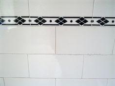 Bathroom tiles by Moi of Ra, via Flickr