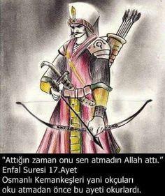 /ENFÂL-17: Fe lem taktulûhum ve lâkinnallâhe katelehum, ve mâ remeyte iz remeyte ve lâkinnallâhe remâ, ve li yubliyel mu'minîne minhu belâen hasenâ(hasenen), innallâhe semîun alîm(alîmun). /  Onları siz öldürmediniz ama onları Allah öldürdü. Ve attığın zaman da sen atmadın ama Allah attı. Ve Allah, mü'minleri Kendisinden ahsen belâ ile imtihan eder. Muhakkak ki Allah, işitendir ve bilendir.