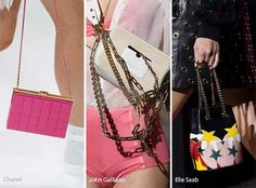 Spring/ Summer 2017 Handbag Trends: Bags with Chain Straps
