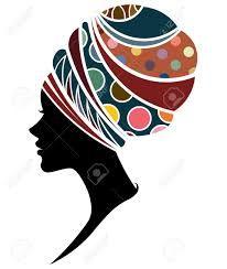 Resultado de imagen para vectores siluetas rostros africanas