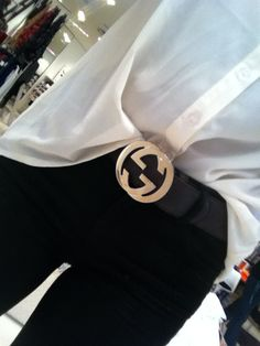 I must grab my mother's belt like this that she wore in the 70's!