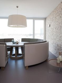 Waterfront Apartment Decoration in Amsterdam by Remy Meijers