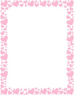 PINK HEART STATIONERY