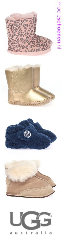 UGG Australia slofjes, cute! My baby girl WILL have these!